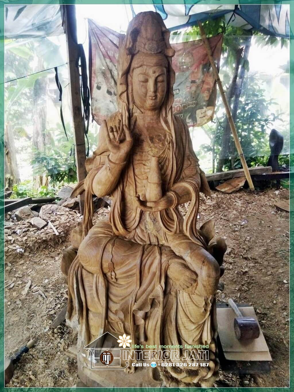 Relief & Patung 3D